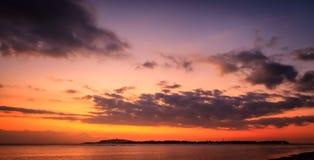 Gili Air Sunset Stock Image