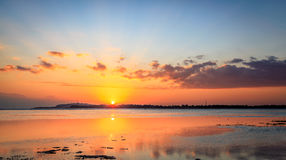 Gili Air Sunset Stock Images