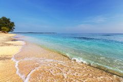 Gili beach Stock Image