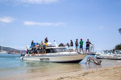Gili Islands Ferry Imagem de Stock Royalty Free