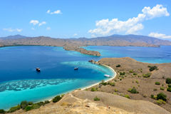 Gili Lawa海岛 免版税库存照片