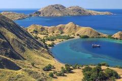 Gili Lawa, νησί Komodo Στοκ Φωτογραφίες