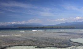 Gili Luftinsel Stockfotos