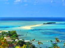 Gili noko. Beach indonesia gresik bawean nature island blue clean sea Stock Photo