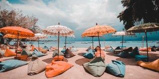 Gili Terawangan Island, Lombok, Indonesia. A view from gili terawangan island Stock Image