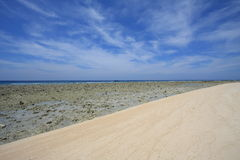 Gili Trawangan Beach. Gili Trawangan Island at Indonesia Stock Photos
