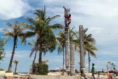 Gili Trawangan. The Gili Trawangan island in Indonesia Stock Image