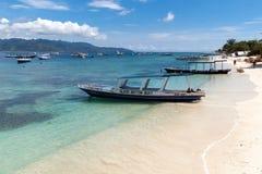 Gili Trawangan. Seascape of Gili Trawangan island, Indonesia Royalty Free Stock Photos