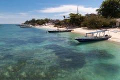 Gili Trawangan. Seascape of Gili Trawangan island, Indonesia Royalty Free Stock Photography