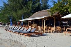 Gili Trawangan strand, Indonesien Royaltyfri Bild