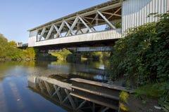 Gilkey Covered Bridge Stock Photography