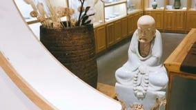 Gillande av forntida kinesiska konstutställningar fotografering för bildbyråer