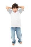 Gillende Jongen Royalty-vrije Stock Afbeelding