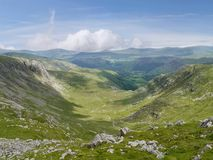 Gillercomb valley, Lake District Stock Photography