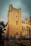 Gilles Aycelin donjon Narbonne france royaltyfri bild