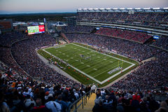 Взгляд стадиона Gillette Стоковое фото RF