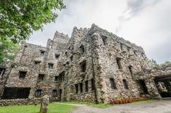 Gillette Castle. Facade of Gillette castle in Connecticut, USA Stock Photography