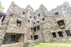 Gillette Castle. Facade of Gillette castle in Connecticut, USA Royalty Free Stock Photo