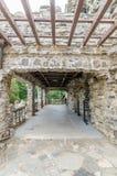 Gillette Castle terrace Stock Images