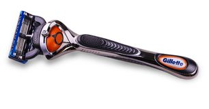 Gillette Fusion Proglide Razor Blades för att raka Royaltyfri Foto