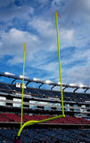Gillette Stadium goal post Stock Images