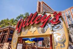 Gilleys交谊厅、舞厅和烤肉 免版税图库摄影