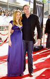 Gillian Anderson and David Duchovny Royalty Free Stock Photo
