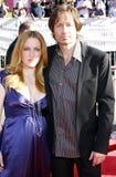 Gillian Anderson and David Duchovny Stock Photo