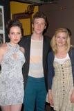 Gillian Jacobs, Ζωή Lister, Ζωή Lister-Jones, Daryl Wein Στοκ εικόνα με δικαίωμα ελεύθερης χρήσης
