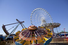 Gillian's Wonderland Pier on the world famous boardwalk in Ocean City, New Jersey. Stock Images