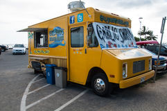 Gilligans Beach Shack food truck stock photo