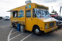 Gilligans Beach Shack food truck Stock Photo
