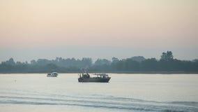 Gillnetters, Fraser River Morning et vagabond Photographie stock