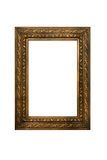 Gilt decorated frame isolated Royalty Free Stock Photo