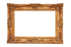 Gilt frame in ancient style Royalty Free Stock Photo