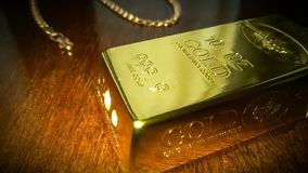 Gilt och guld arkivbild