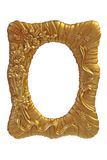 Gilt picture frame Stock Images