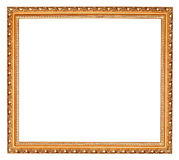 Gilted baroque old wooden picture frame Stock Image