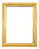 Gilted frame isolated Stock Images