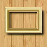 Gilted frame Royalty Free Stock Photography