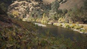 Gimbal puszka strzał merced rzeka w dniu Obraz Stock