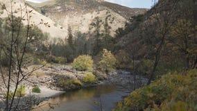 Gimbal puszka strzał merced rzeka w dniu Zdjęcia Stock