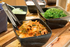 Gimchi Kimchi, grönsaksallad royaltyfri fotografi