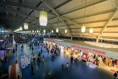 Gimhae lotnisko międzynarodowe na Jun 24, 2017 w Busan, Korea fotografia royalty free