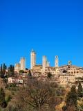 gimignano意大利圣・托斯卡纳 免版税库存图片