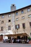 gimignano意大利圣 免版税库存照片