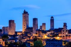 gimignano意大利圣 免版税图库摄影
