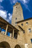gimignano Ιταλία SAN Τοσκάνη στοκ φωτογραφία με δικαίωμα ελεύθερης χρήσης