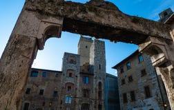 gimignano Италия san Тоскана Стоковое Изображение