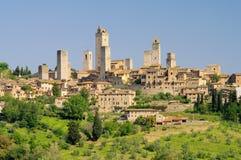 圣Gimignano 免版税库存照片